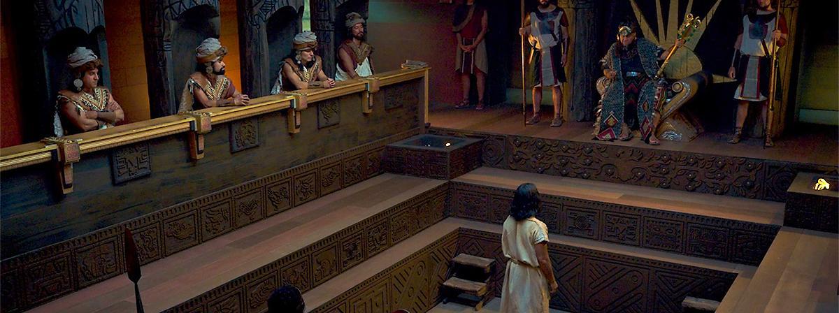 Abinadi svjedoči pred kraljem Noom