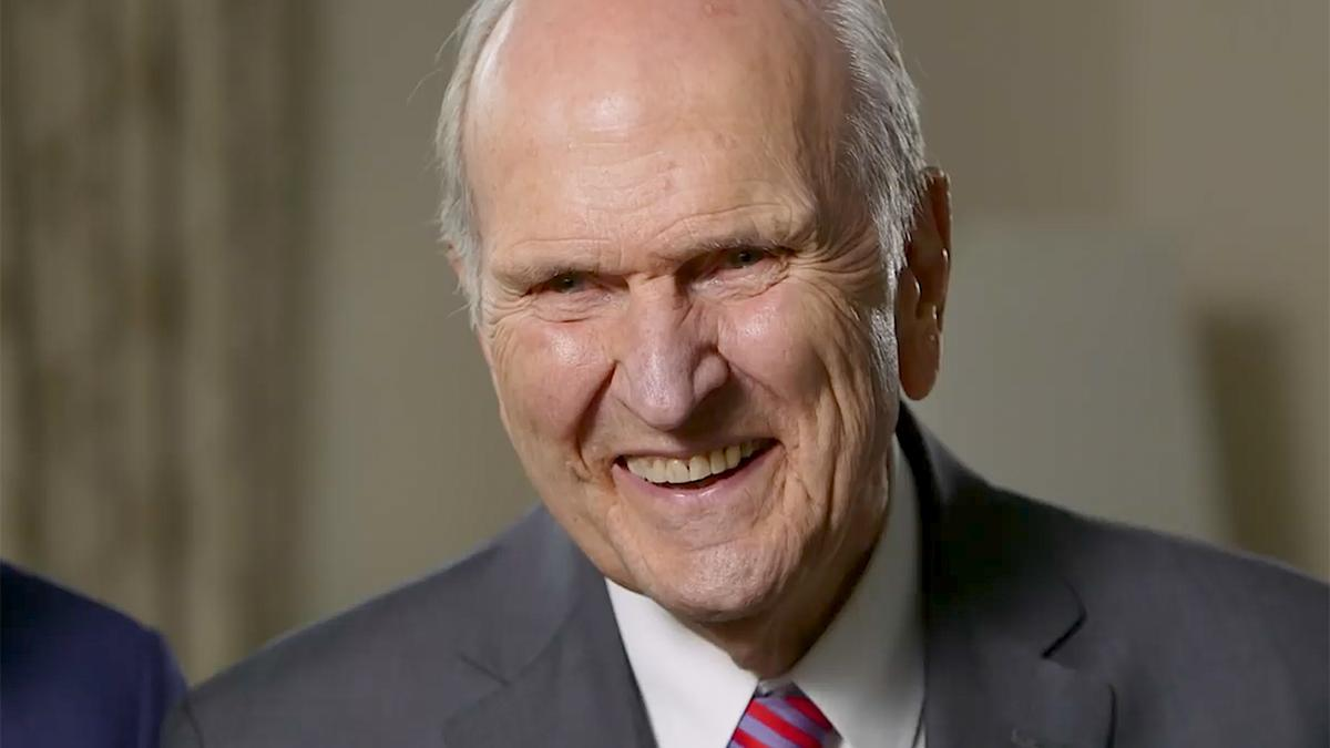 President Russell M. Nelson smiling
