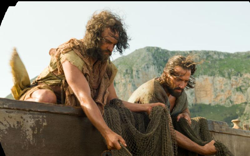 Apostel beim Angeln