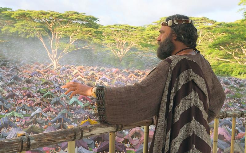 Kralj Benjamin govori mnoštvu