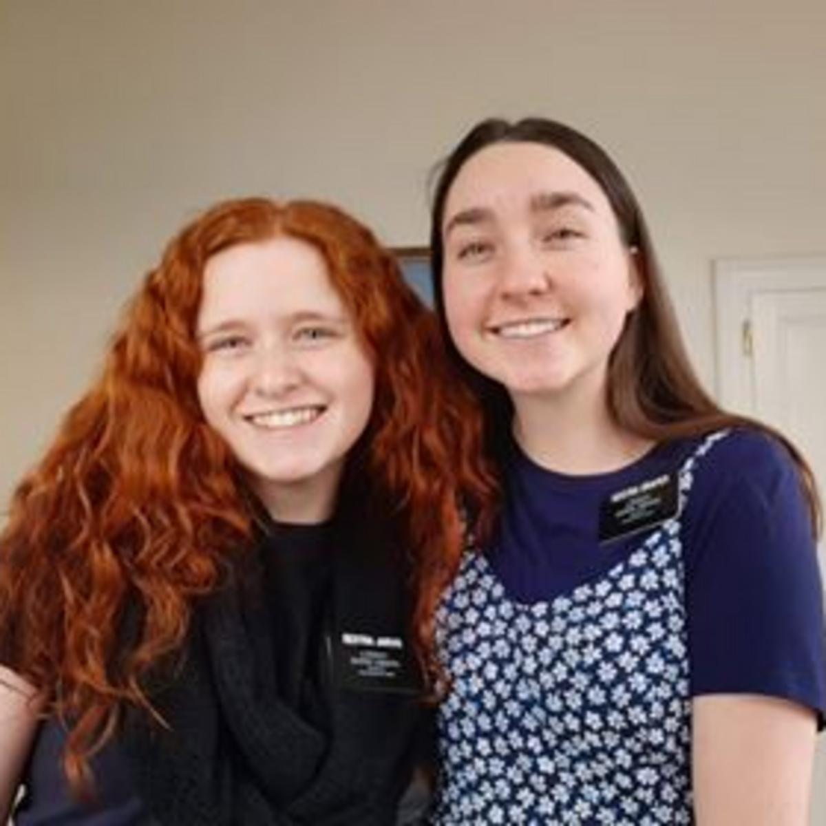 Sister Draper & Sister Jarvis