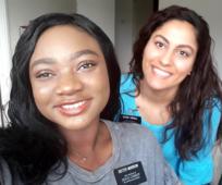 Sister Topalli & Sister Morrow