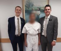 Elder Firth & Elder Chandler