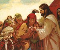 Jesus heilt Menschen auf dem amerikanischen Kontinent
