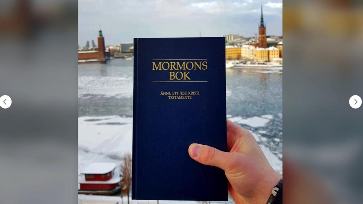 A Book of Mormon picture.