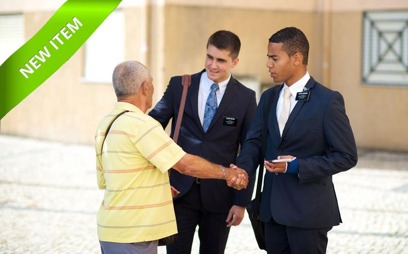 Elders teaching a man in the street
