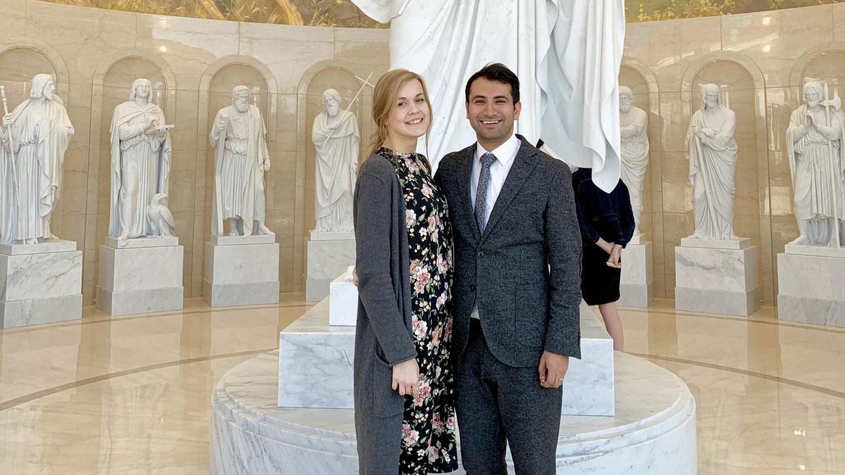 Sabrina and Zhairo Lopezi