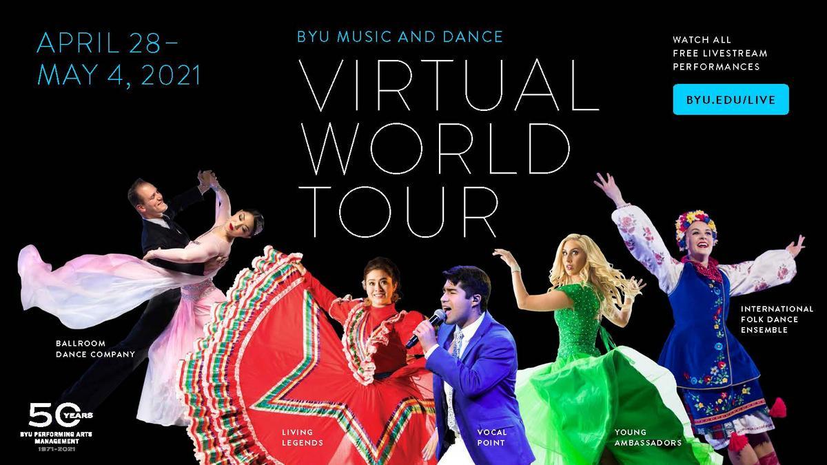 Invitasjon til BYU sine digitale forestillinger