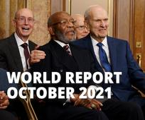 October 2021 Edition of The World Report