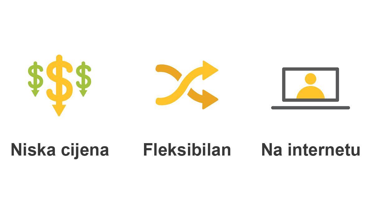 low cost - flexible - online