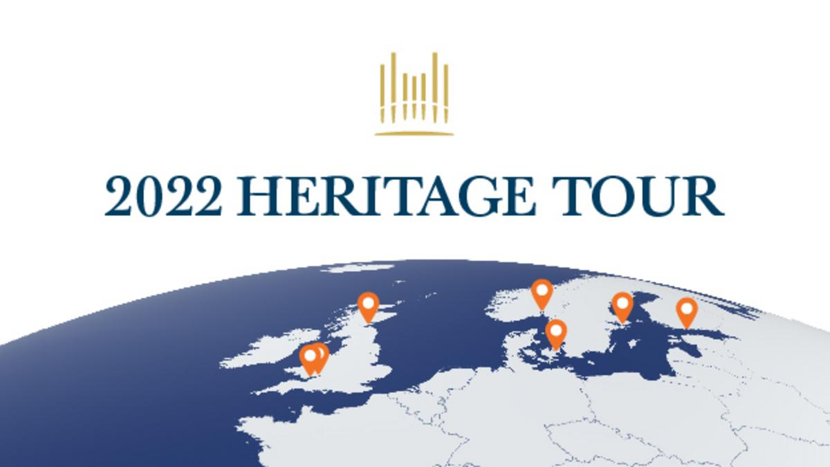 Heritage Tour for Tabernakelkoret på Tempelpladsen  og Orkestret på Tempelpladsen