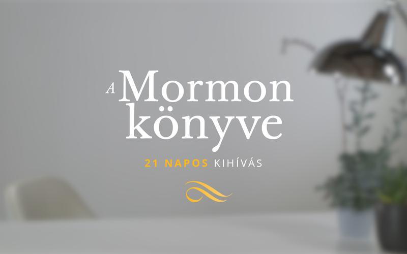 Mormon könyve poszter