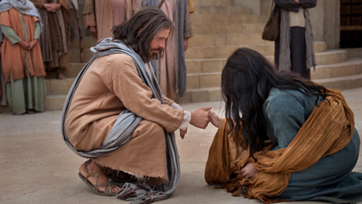 Není možné propadnout se níže, než kam sahá moc Usmíření.