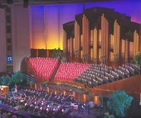 El Coro del Tabernáculo canta en el Centro de Conferencias de Salt Lake City