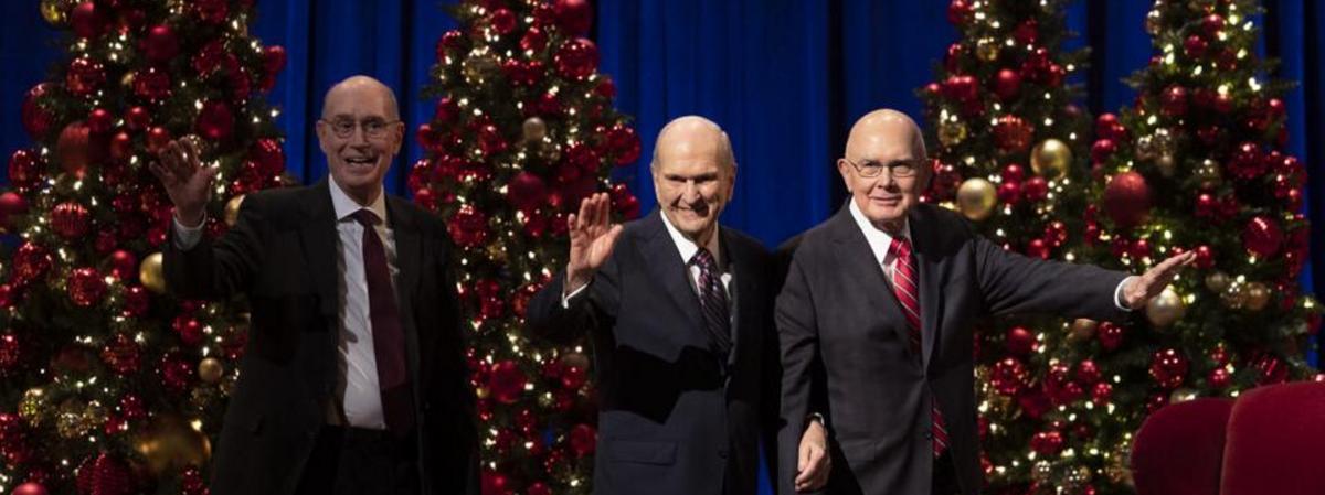 Devocional de Natal da Primeira Presidência – 2020