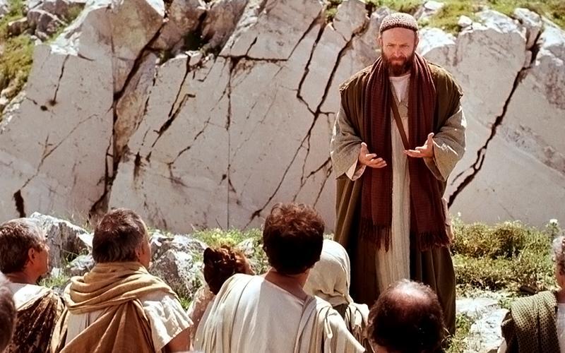 Pál apostol prédikál