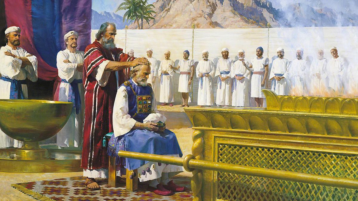 Wie zur Zeit des Alten Testaments werden auch heute Propheten gesalbt und in der Kirche eingesetzt.