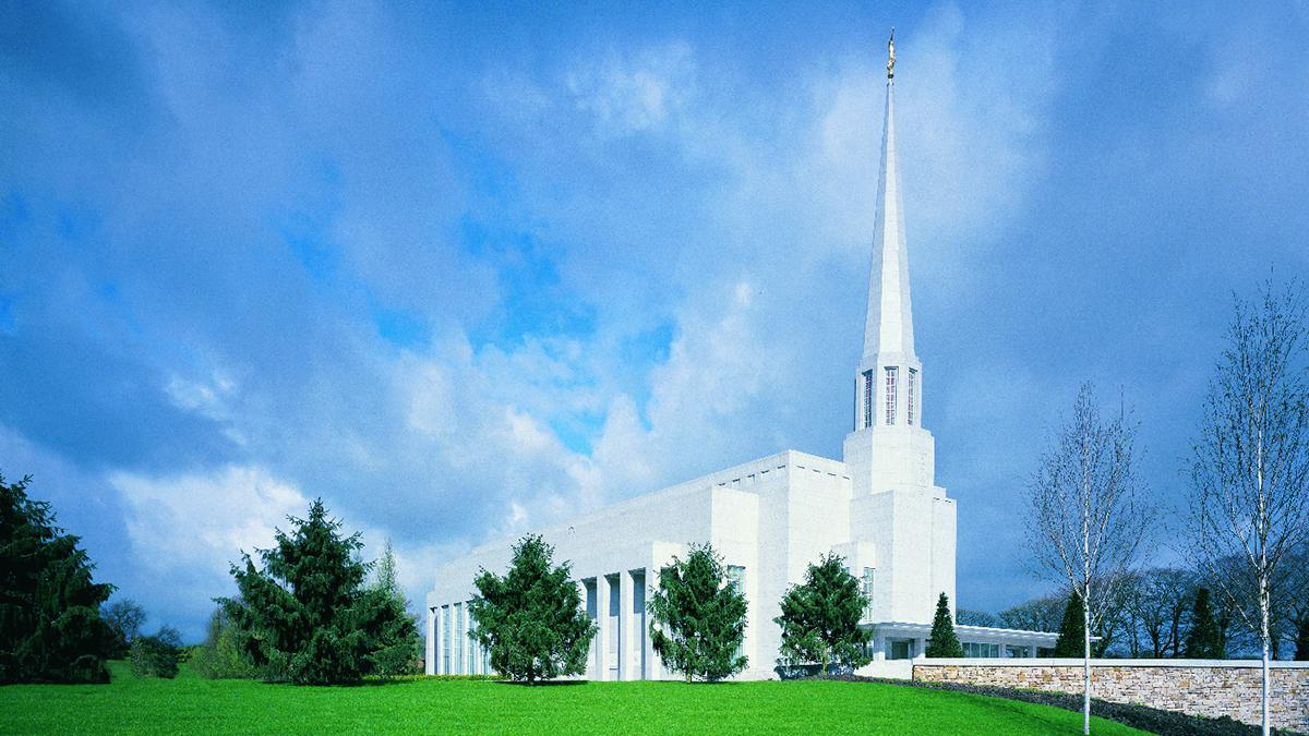 Latter-day Saint temples are sacred buildings that are dedicated to God.