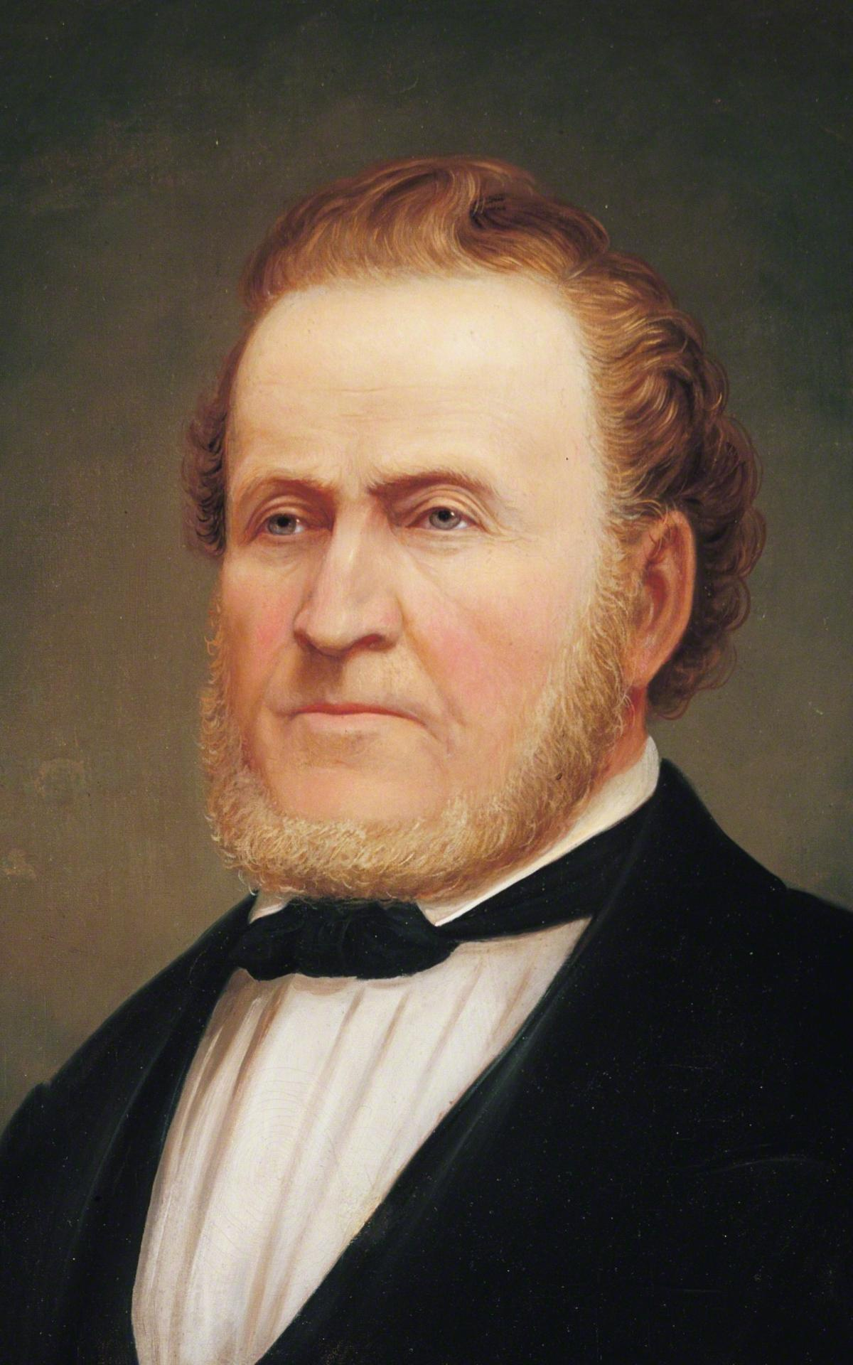 Portrait von Brigham Young