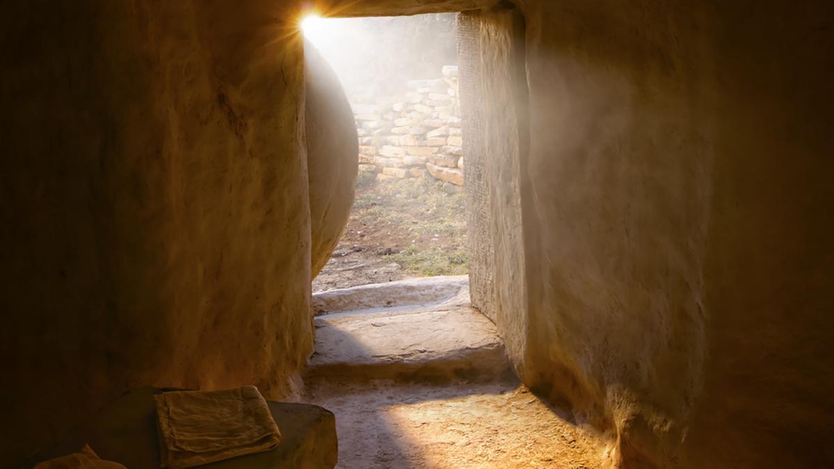 Jesus Kristus stod opp fra graven