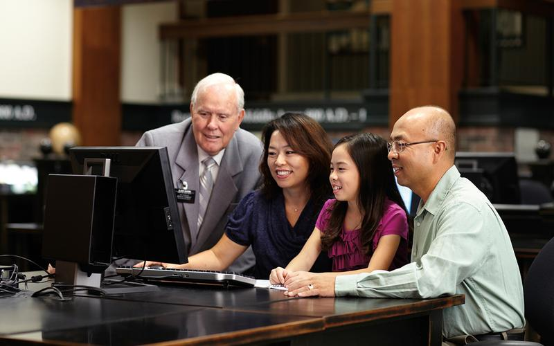Researching family history helps many feel a connection to their ancestors. Why Latter-day Saints do family history and temple work.