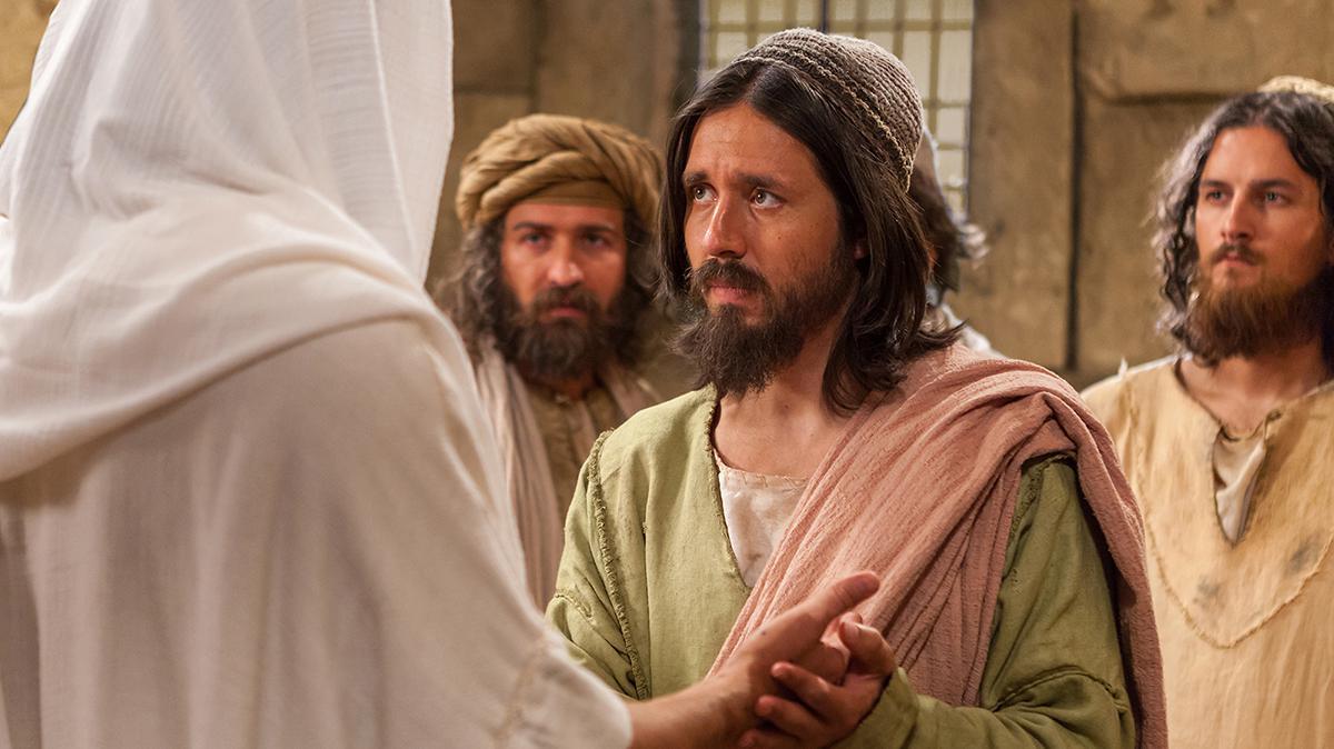 Der Apostel Thomas berührt die Wundmale Jesu