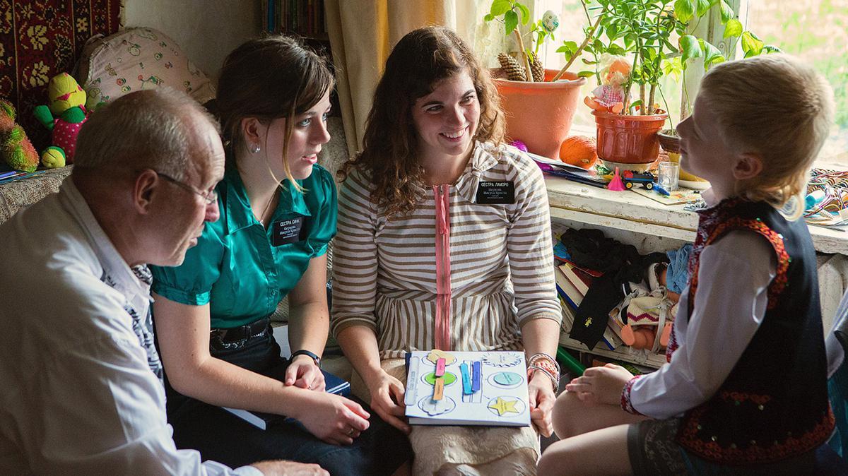 Schwestern als Missionarinnen in der Ukraine