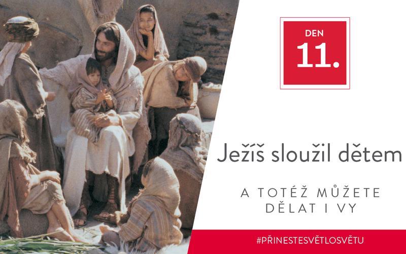 Ježíš sloužil dětem a totéž můžete dělat i vy
