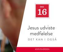 Dag 16 - Jesus udviste medfølelse, det kan I også