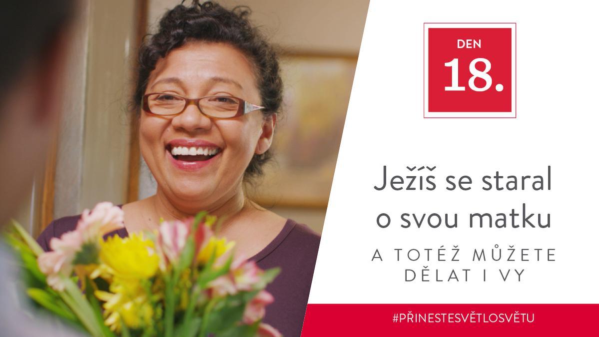 Den 18 - Ježíš se staral o svou matku a totéž můžete dělat i vy