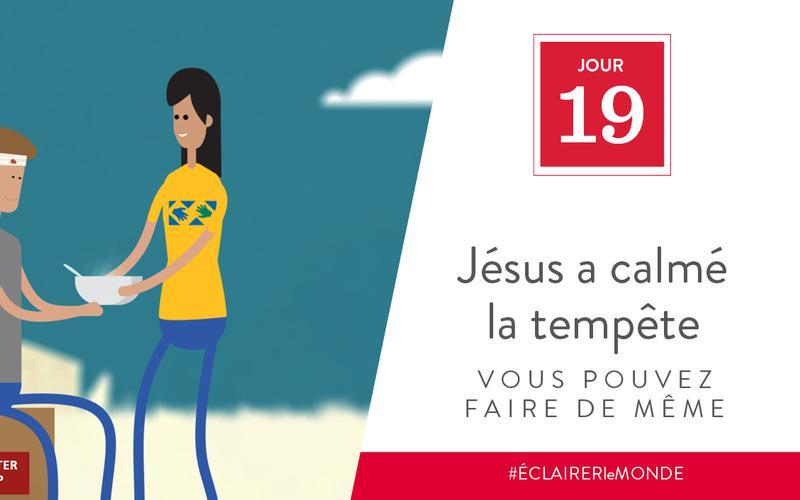 Jésus a calmé la tempête, vous pouvez faire de même