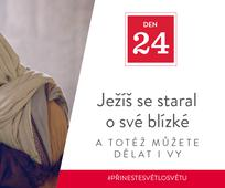 Den 24 - Ježíš se staral o své blízké a totéž můžete dělat i vy