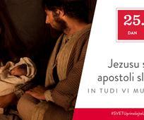 25. Dan - Jezusu so apostoli sledili in tudi vi mu lahko