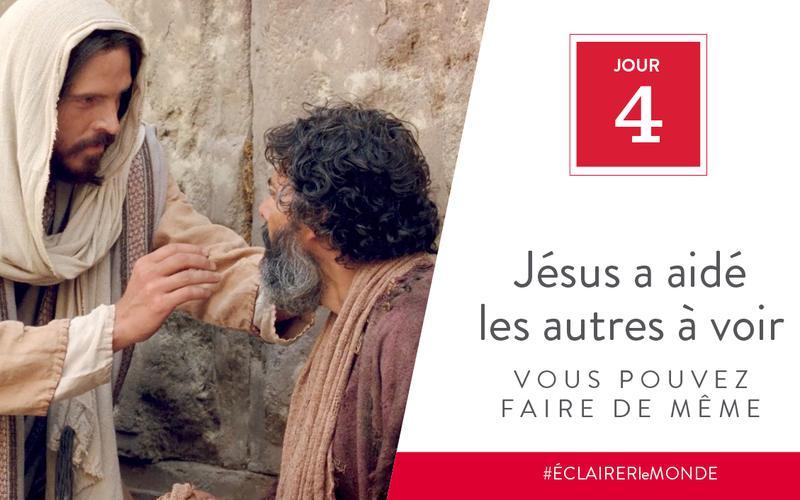 Jésus a aidé les autres, vous pouvez faire de même
