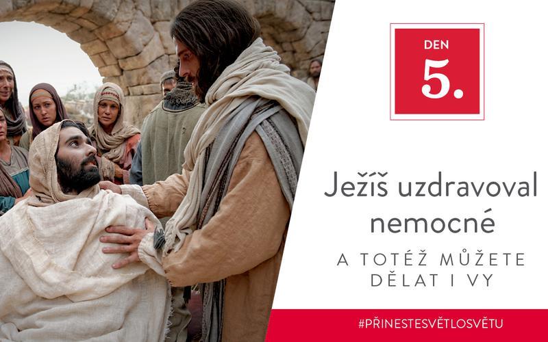 Ježíš uzdravoval nemocné a totéž můžete dělat i vy