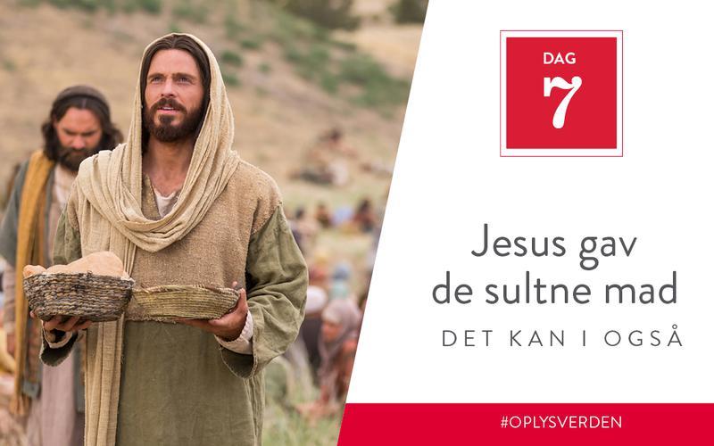 Jesus gav de sultne mad, det kan I også
