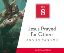 Day 8 - Jesus Prayed for Others and So Can You