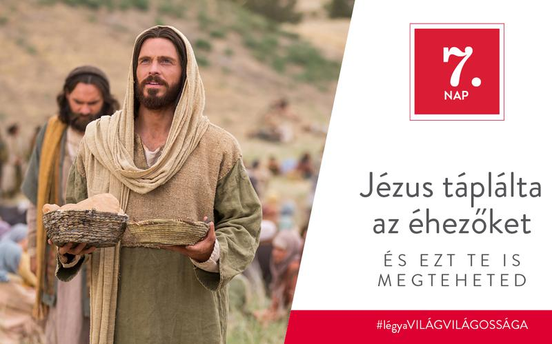Jézus táplálta az éhezőket, és ezt te is megteheted