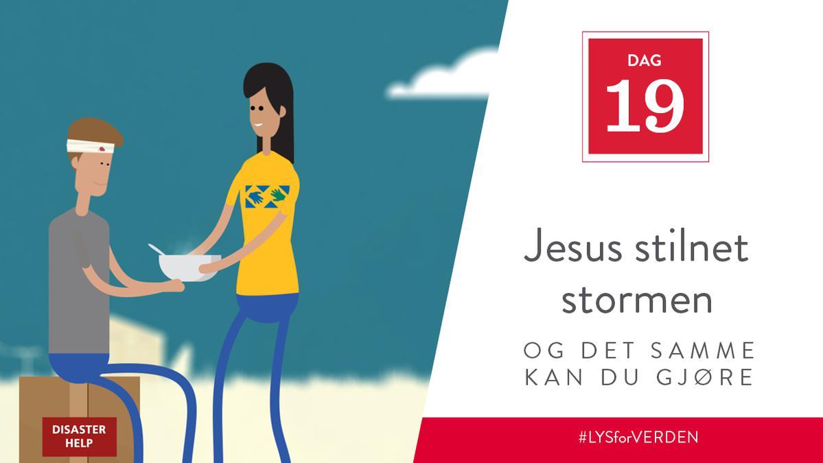 Jesus stilnet stormen, og det samme kan du gjøre