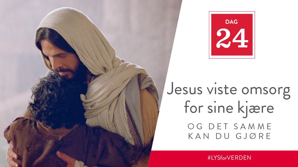 Jesus viste omsorg for sine kjære, og det samme kan du g jøre
