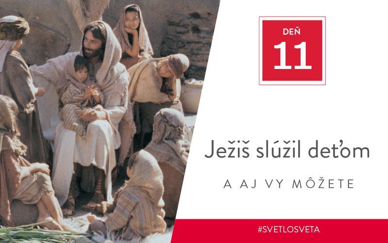 Jesus ministered to children