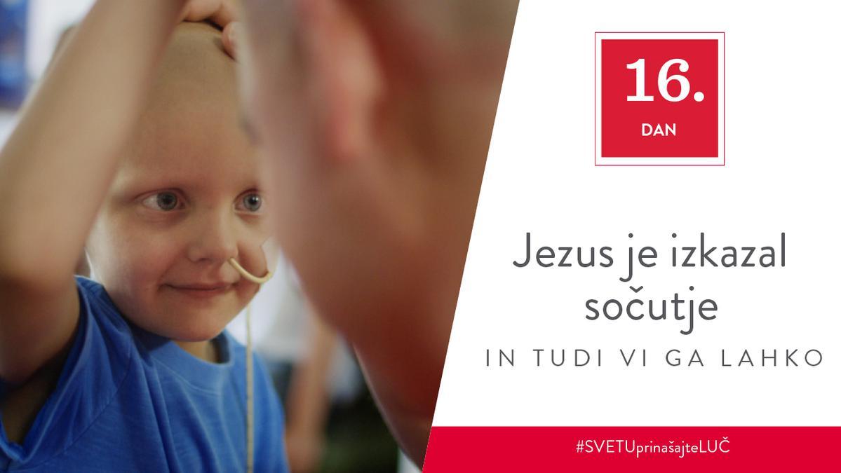 16. Dan - Jezus je izkazal sočutje in tudi vi ga lahko