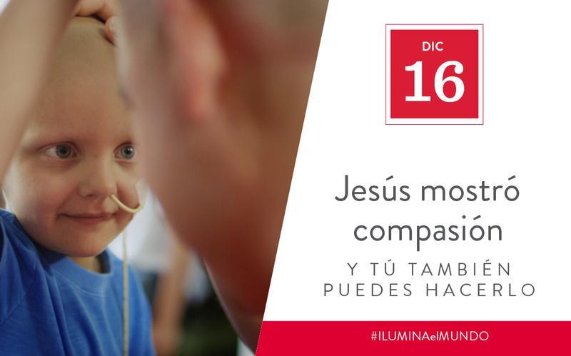 Jesus showed compassion