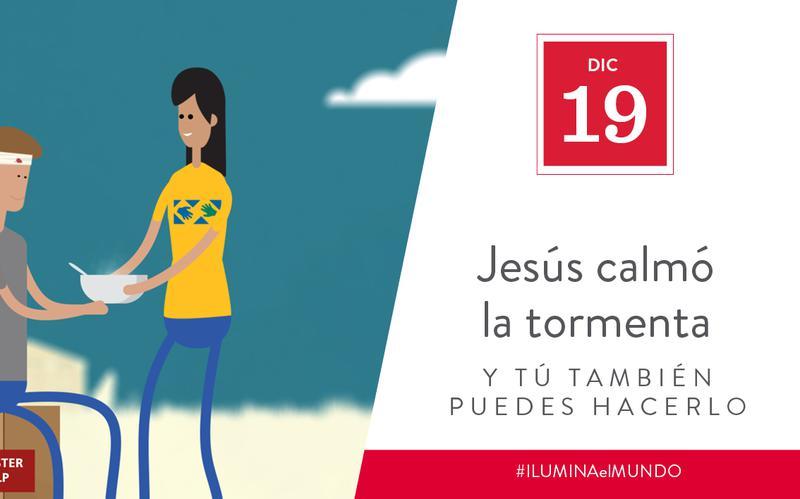 Jesus calmed the storm