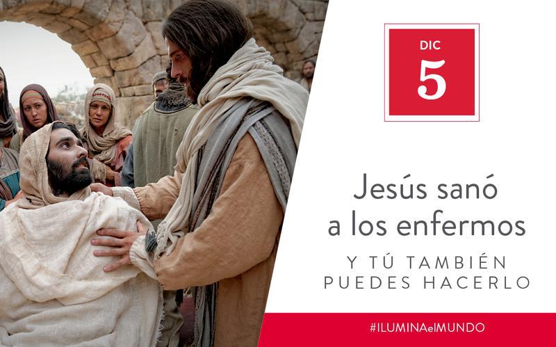 Jesus healed the sick