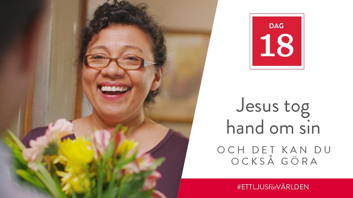 Jesus tog hand om sin mor och det kan du också göra