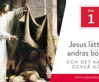 Dag 1 - Jesus lättade andras bördor och det kan du också göra