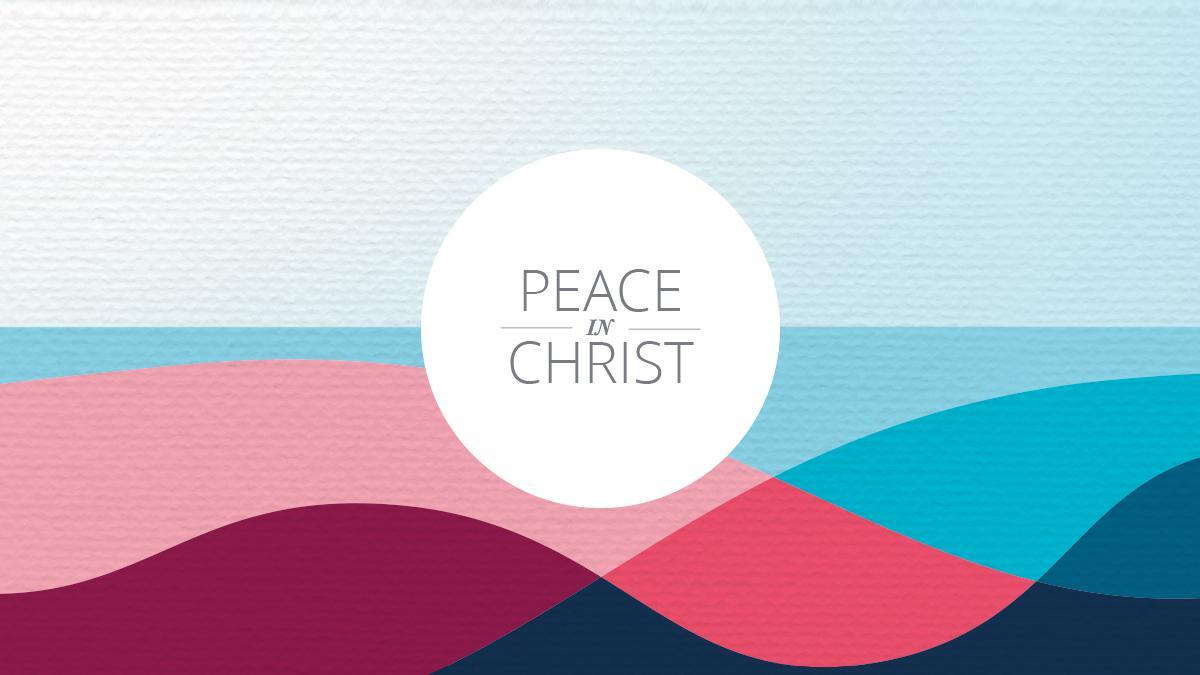 Thème des activités d'échange 2018 - La paix en Christ