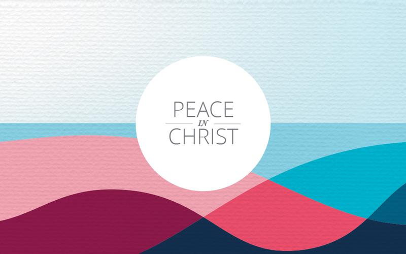 Tema da Mutual de 2018 - Paz em Cristo