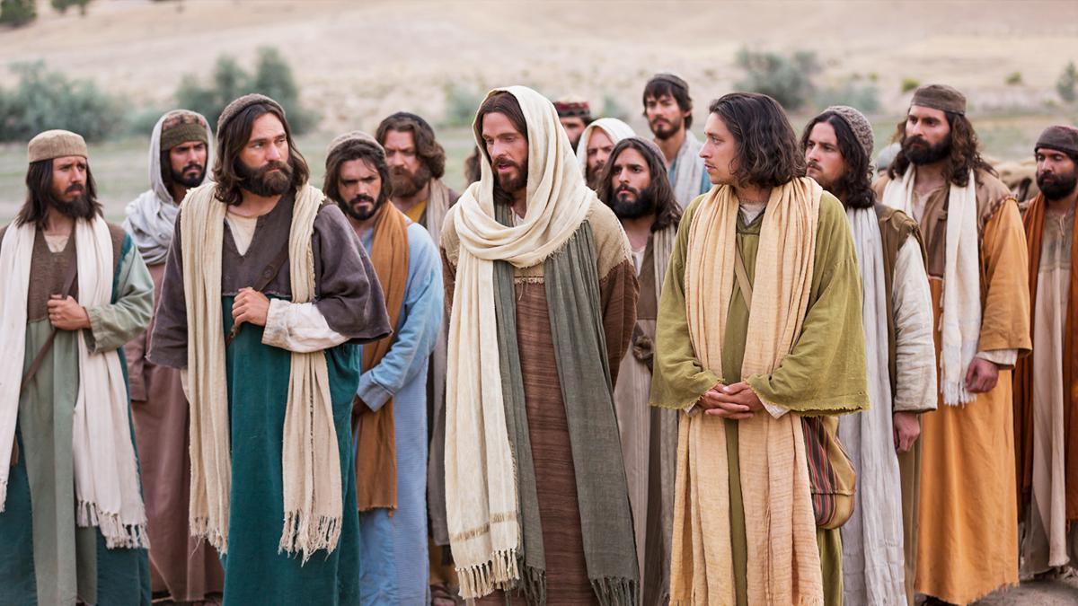 Ježíš kráčí sapoštoly
